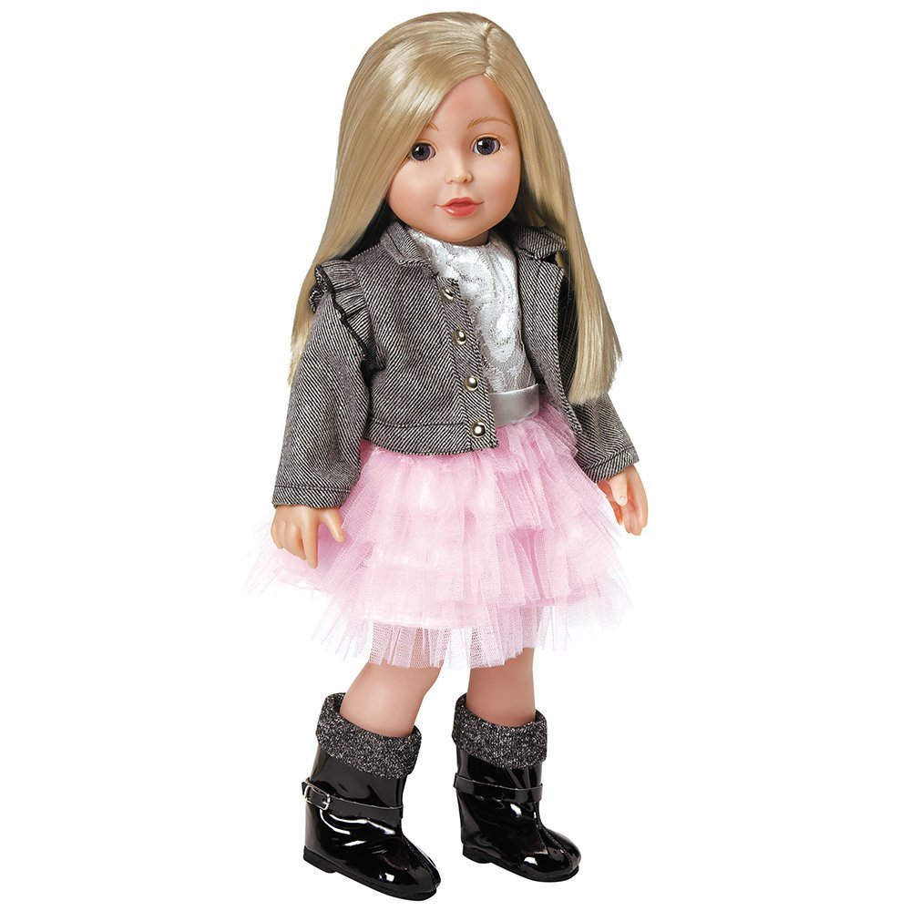 Give them the gift of an Adora Doll. These 18 inch high quality dolls are the perfect toy for hours of dress up and styling.