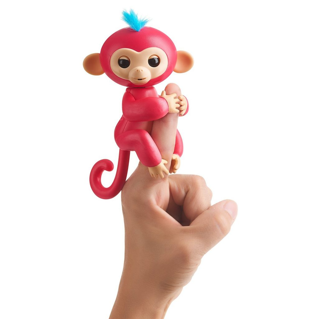 This snuggly finger monkey is one of the hottest toys of the Christmas season. It can open and shut its eyes, blow you kisses, and even make adorable monkey noises. Plus, the price is pretty great at around $14.99!