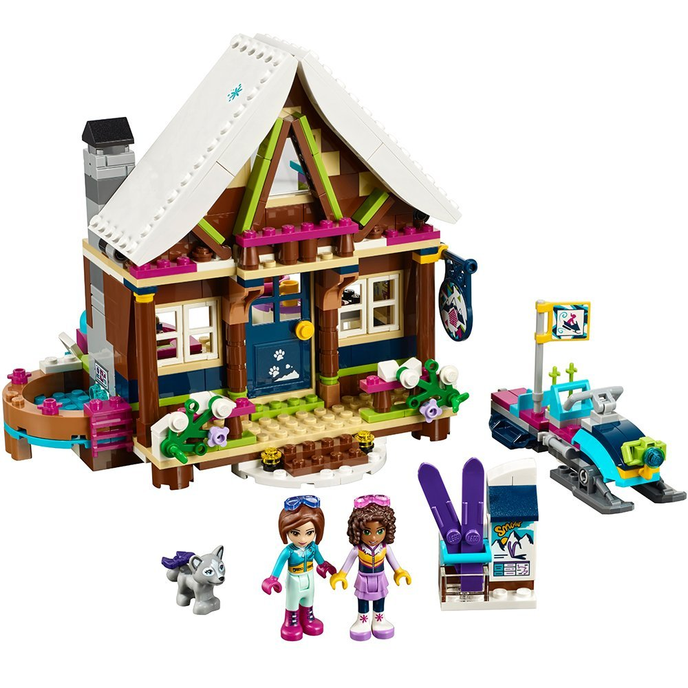 If you can go to the slopes for Christmas, you need to buikd the slopes. Lego Friends has this adorable Chalet set that perfect for little lego fans. Once they are done building, there is still hours left for play.