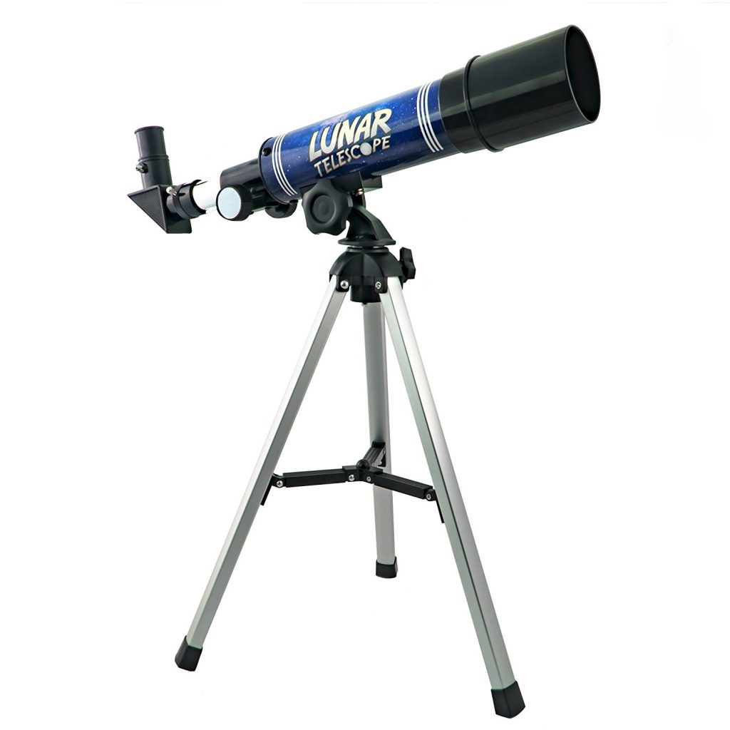 Captivate your child with the stars. With this beginner telescope, you can see craters on the moon and see other parts of space. It even comes with an authentic genuine meteorite.