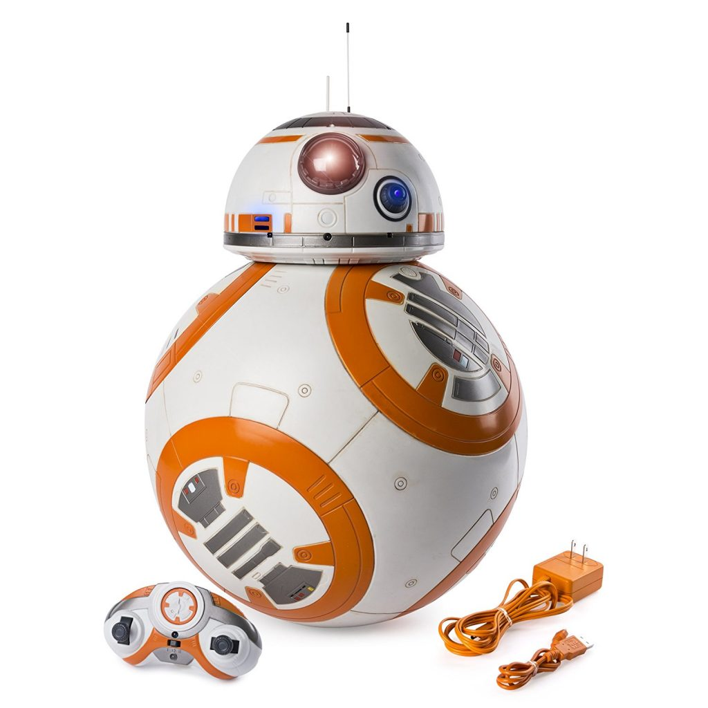 For your Star Wars Fan child, check out this Star Wars - check out this Hero Droid BB-8 - fully interactive droid.