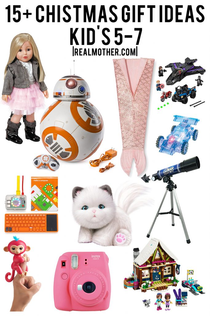 Christmas gift guide for boys and girls ages 5-7