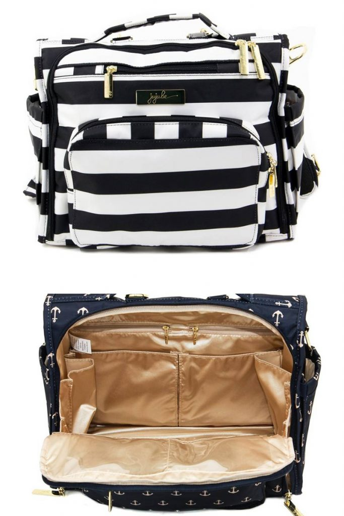 It's hard to find trendy diaper bags as a mom. Check out this cute one that doubles as a backpack