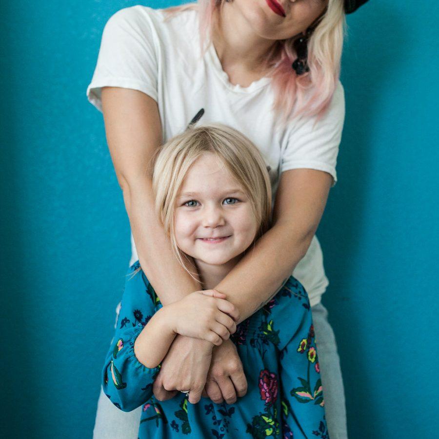 No My kids doesn't owe you a hug