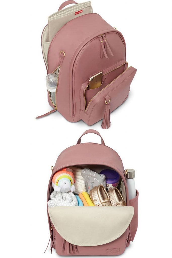 stylish diaper bags for trendy moms